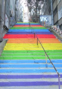 cosa vedere a Istanbul scala colorata