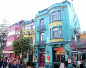 cosa vedere a Istanbul case colorate