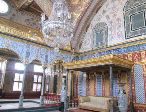 cosa vedere a Istanbul topkapi stanza sultano