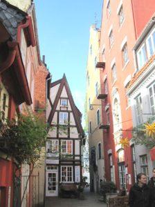 Quartiere storico a Brema Germania