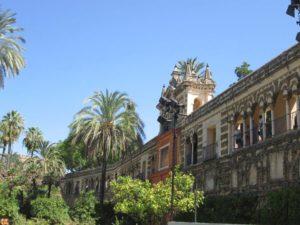 Cosa vedere a Siviglia giardini Alcazar