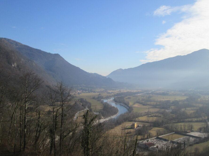 Cosa vedere in Slovenia itinerario storico Caporetto