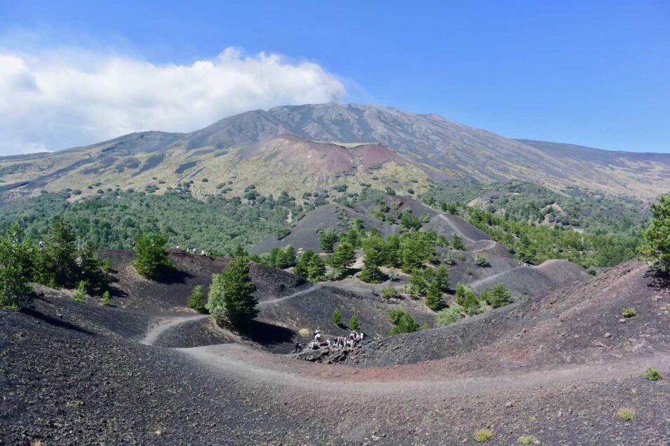 Escursione sul vulcano Etna
