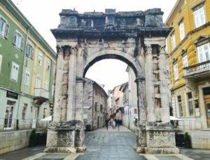 Istria cosa vedere centro di Pola
