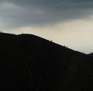 profilo del vulcano etna