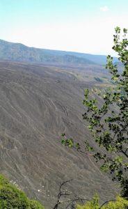 valle del bove del vulcano etna