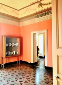 Adiacente al teatro romano di catania si trova l casa della famiglia borghese liberti