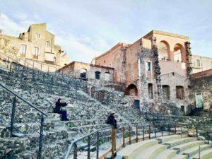 Il Teatro Romano di Catania è uno dei siti archeologici più importanti della città