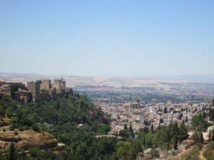 Cosa vedere a Granada panorama