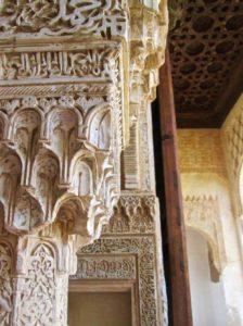 Cosa vedere a Granada alhambra dettaglio