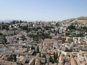 Cosa vedere a Granada paesaggio