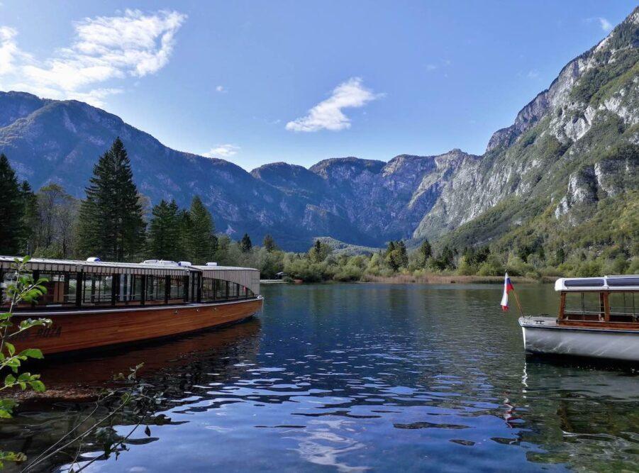 weekend al lago di bohinj in slovenia