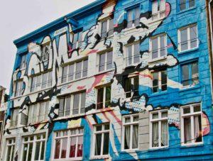 street art ad amsterdam