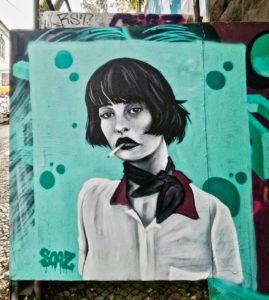 street art a lisbona