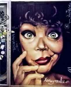 street art a Valencia barrio del carmen