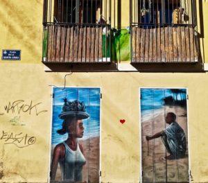 street art e graffiti a Valencia barrio del carmen
