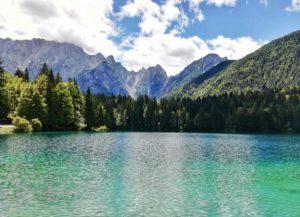 laghi di fusine in valromana