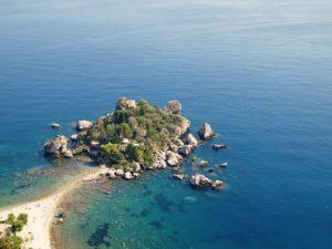 Isola Bella tra le spiagge Sicilia orientale