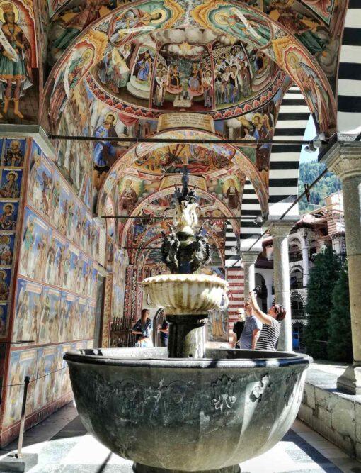 Fontana del Monastero di Rila