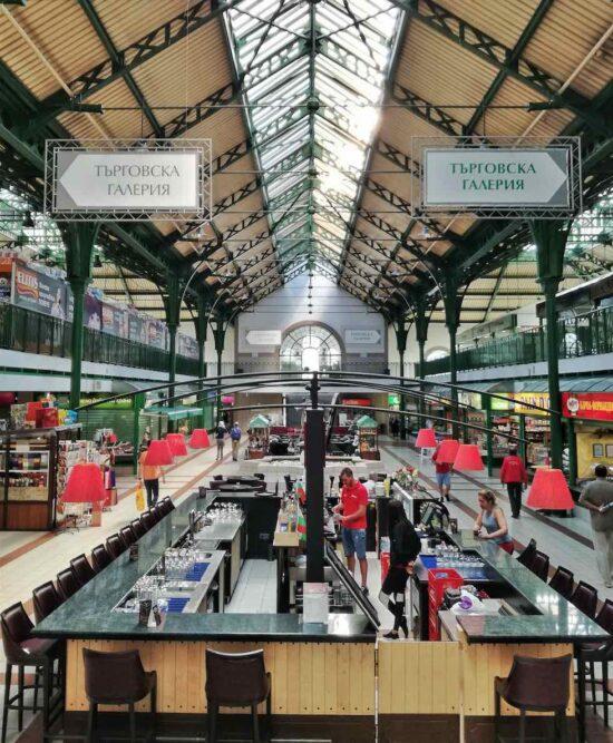 Cosa vedere a Sofia Mercato centrale coperto