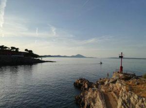 panorama dell'isola di lussino