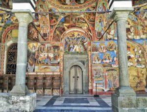 Porta laterale del Monastero di Rila