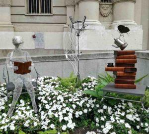 Installazione a Piazza Carlo Alberto a Torino