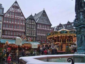 viaggio da sola a Francoforte