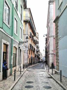 viaggio da sola a Lisbona