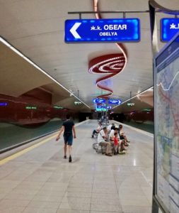 usare la metro di sofia durante un viaggio in bulgaria