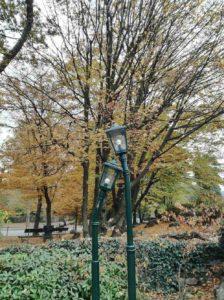 Autumn in Turin al Parco del Valentino