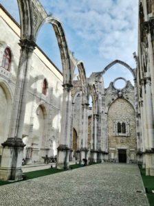 Visitare Lisbona e il Carmo