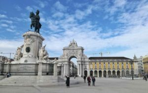 Visitare Lisbona e Praca do Comercio