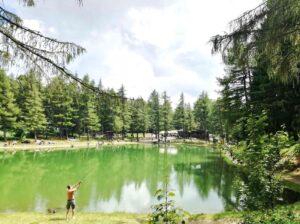lago della ninfa nei dintorni di bologna