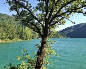 Lago di suviana nei dintorni di bologna