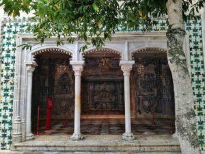 Cosa vedere a Sintra Palacio Nacional cortile