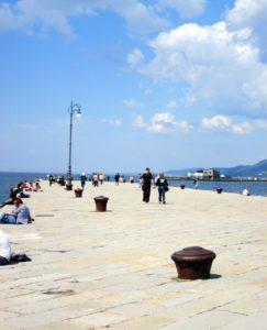 Cosa vedere a Trieste Molo audace