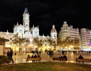 Cosa vedere a Valencia Placa de l'Ajuntament