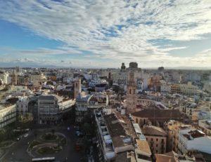 Cosa vedere a Valencia panoramica citta dall'alto