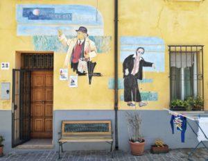 Cosa vedere a Rimini i murales dedicati a fellini