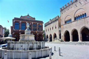 Cosa vedere a Rimini fontana della Pigna
