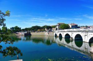 Cosa vedere a Rimini il Ponte di Tiberio