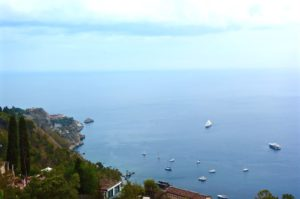 Castelmola nella Sicilia orientale