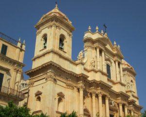 Noto nella Sicilia orientale
