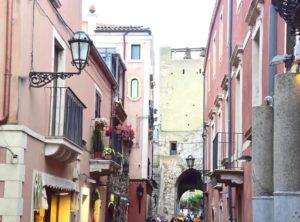 Taormina nella Sicilia orientale