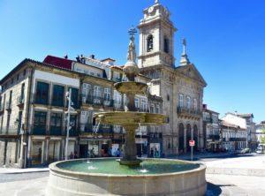 viaggio in Portogallo Guimaraes Toural