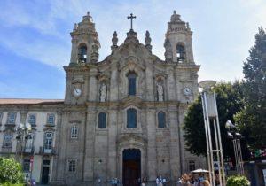 La basilica dos congregados nella parca da republica di braga portogallo