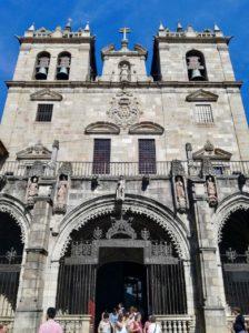 La Cattedrale del Sè di Braga Portogallo