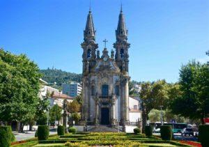 Tra le cose da vedere a Guimaraes c'è la Igreja de Nossa Senhora da Consolação