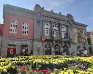 Nell'Avenida da Liberdade di Braga Portogallo si trova il Teatro Circo